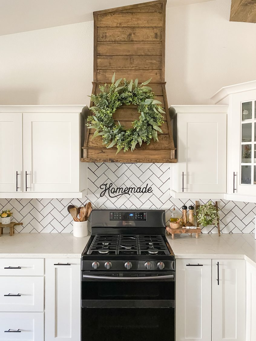 How to DIY a wood vent hood for your kitchen