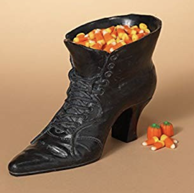 Witch shoe Candy Dish